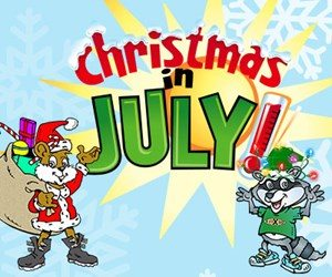 Knoebels christmas in july experience columbia montour for Columbia craft show 2017
