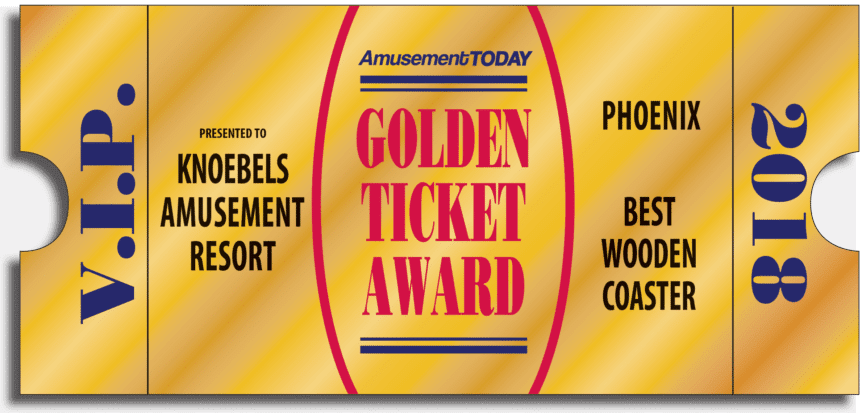 Knoebels Takes Home Golden Ticket Awards Experience Columbia Montour Counties