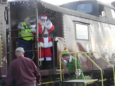 North Pole Express Holiday Train Ride Experience Columbia